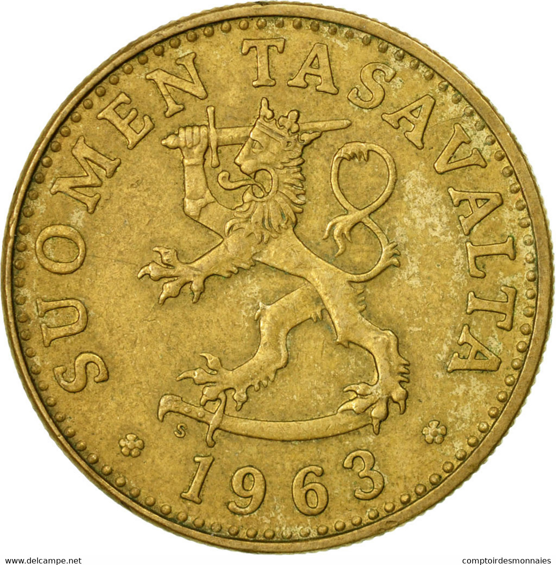 Monnaie, Finlande, 50 Penniä, 1963, TB+, Aluminum-Bronze, KM:48 - Finlande