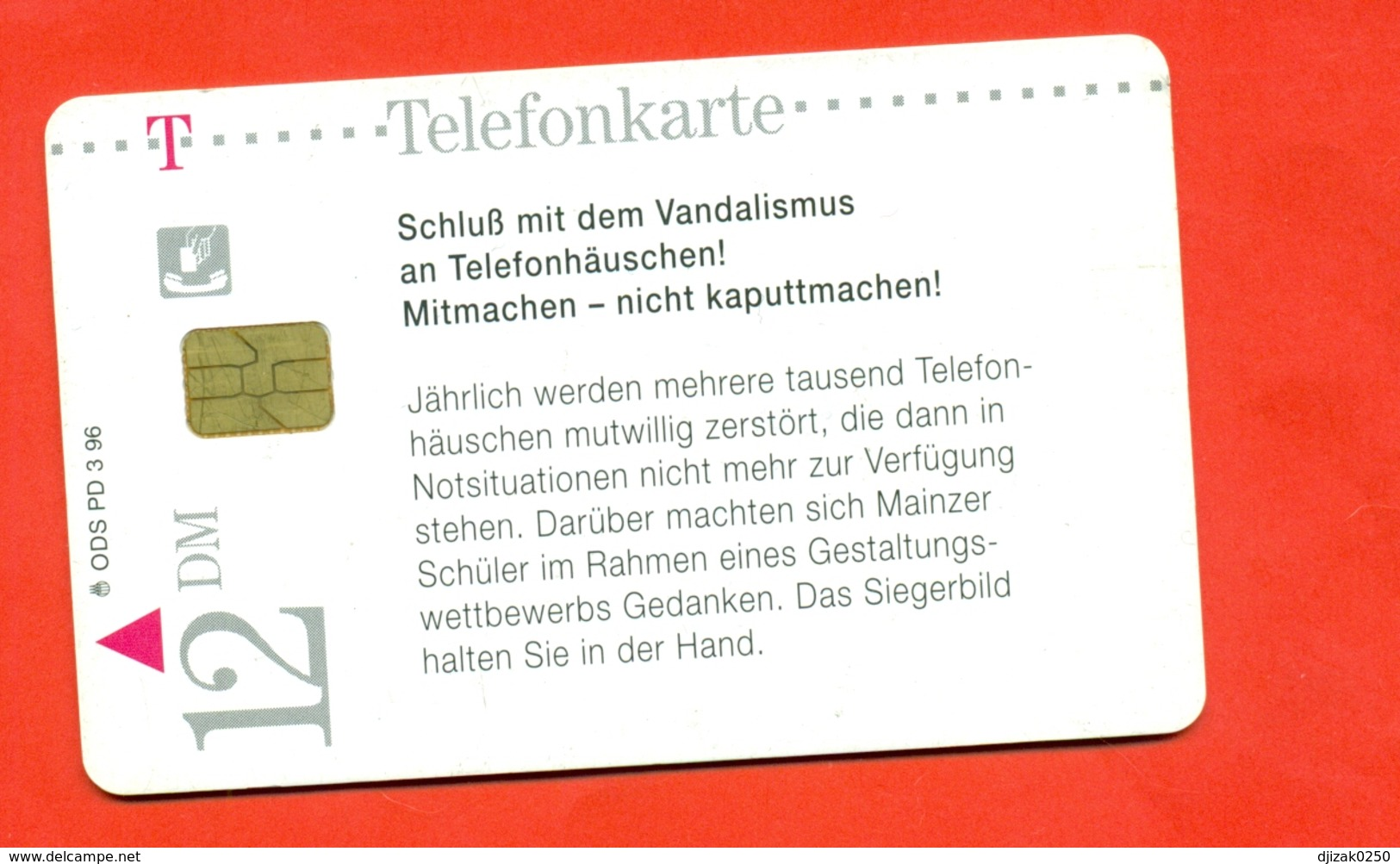 Germany. Accident Cars. Plastic Card With A Chip.Phonecards. - Cars