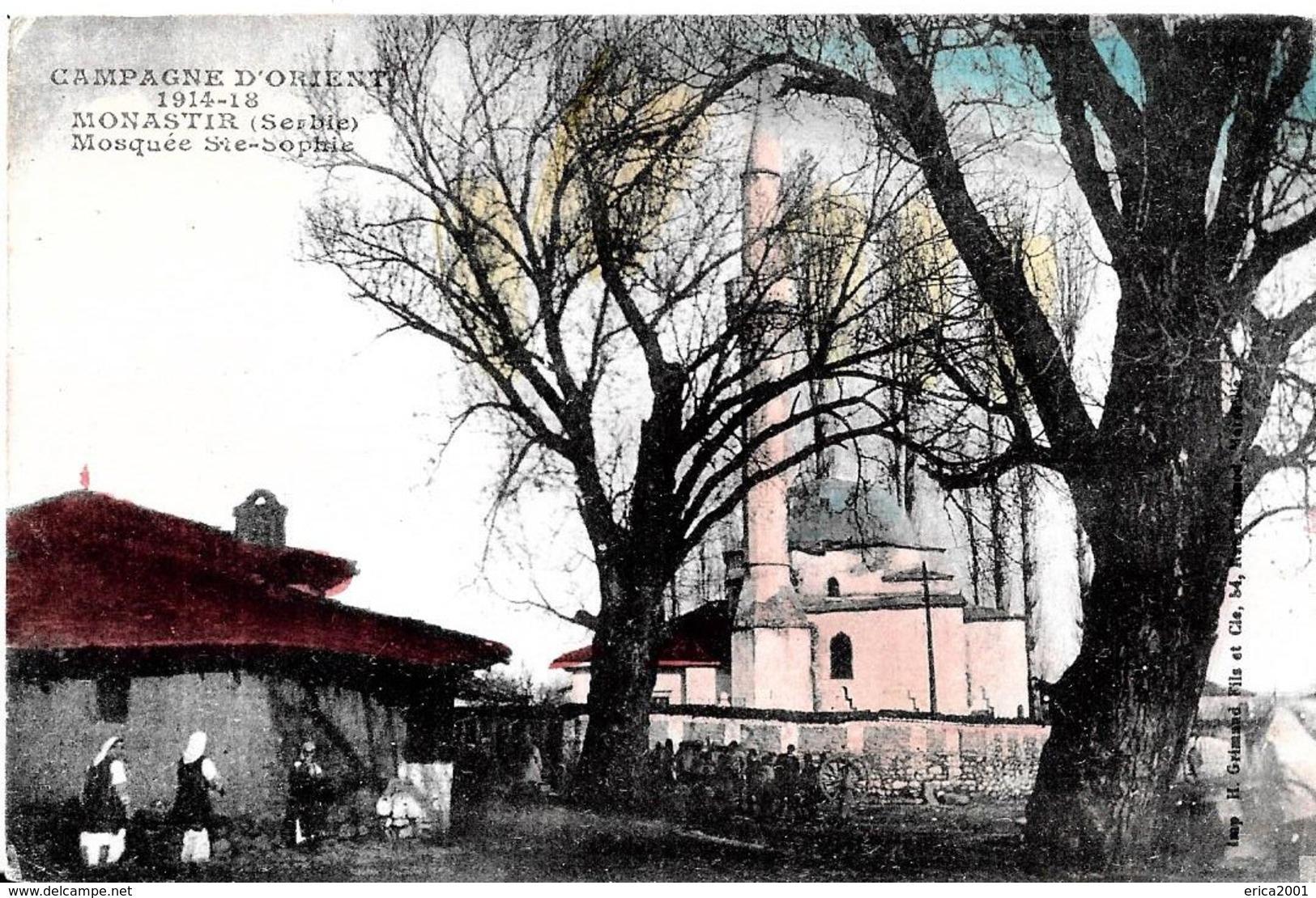 Serbie. Monastir. La Mosquée Sainte Sophie. - Serbie