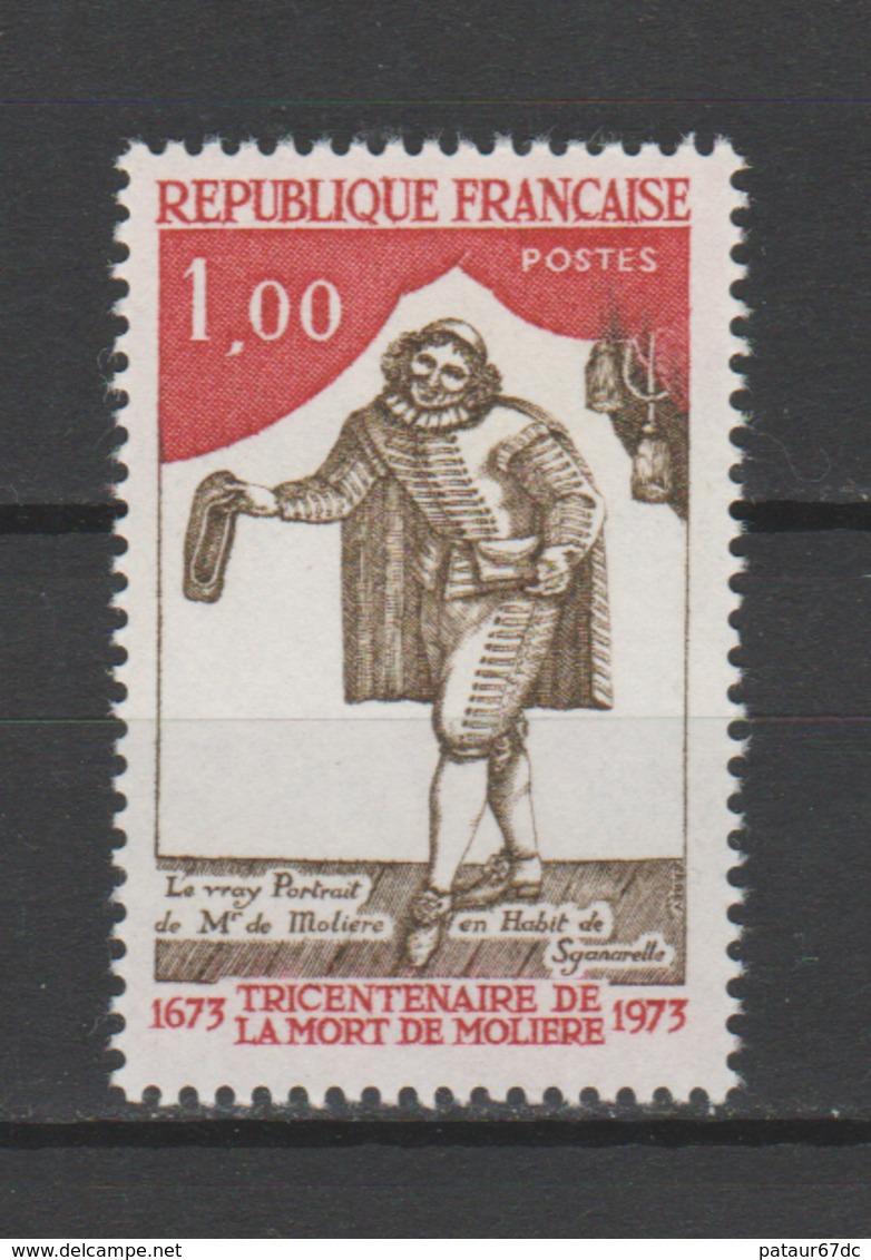 FRANCE / 1973 / Y&T N° 1771 ** : Molière - Gomme D'origine Intacte - France