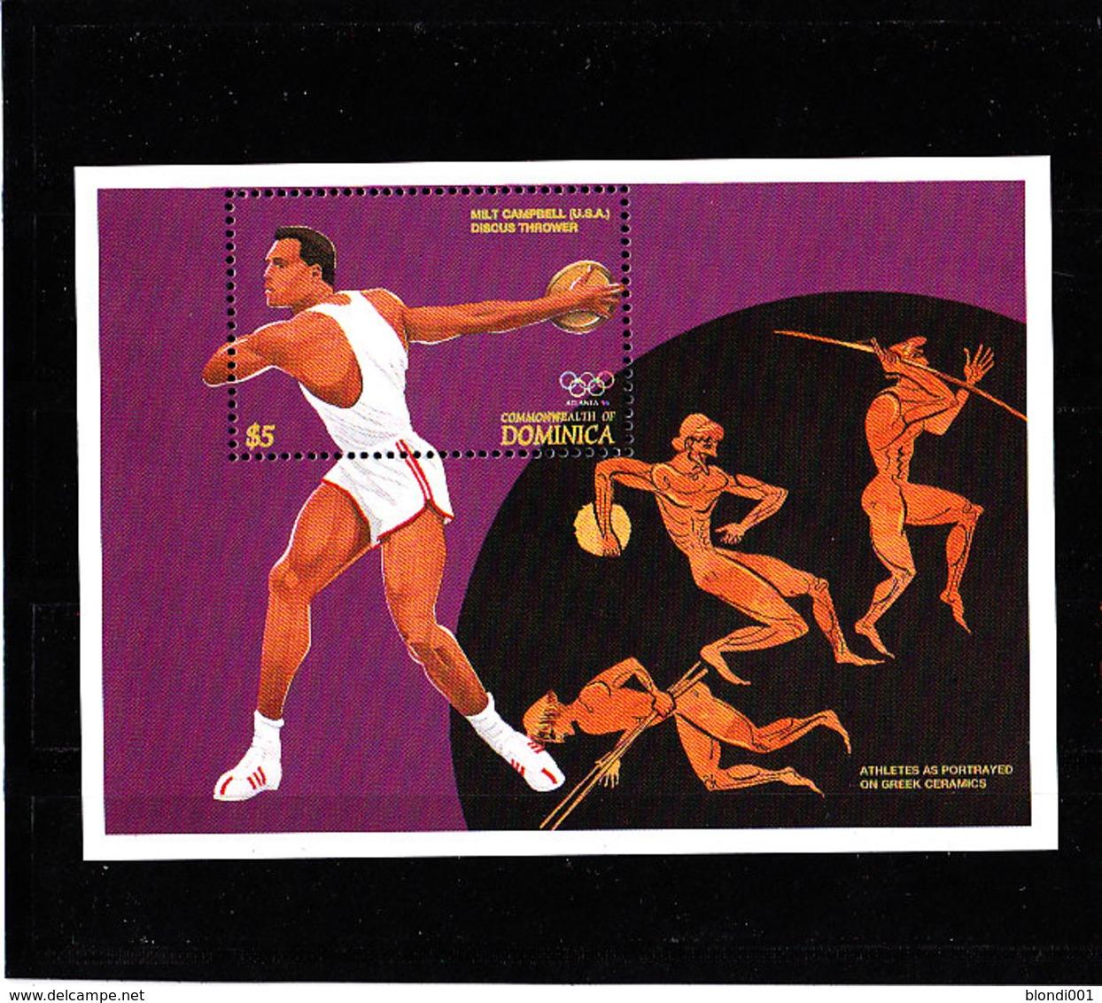 Olympics 1996 - History - DOMINICA - S/S MNH - Summer 1996: Atlanta