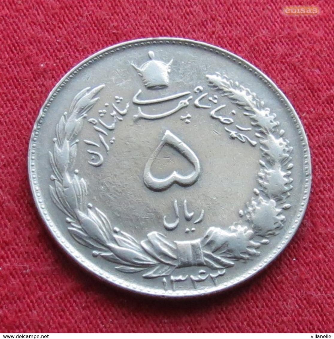 Iran 5 Rials 1964 SH 1343 KM# 1175a Lt 375  Irão Persia Persien - Iran