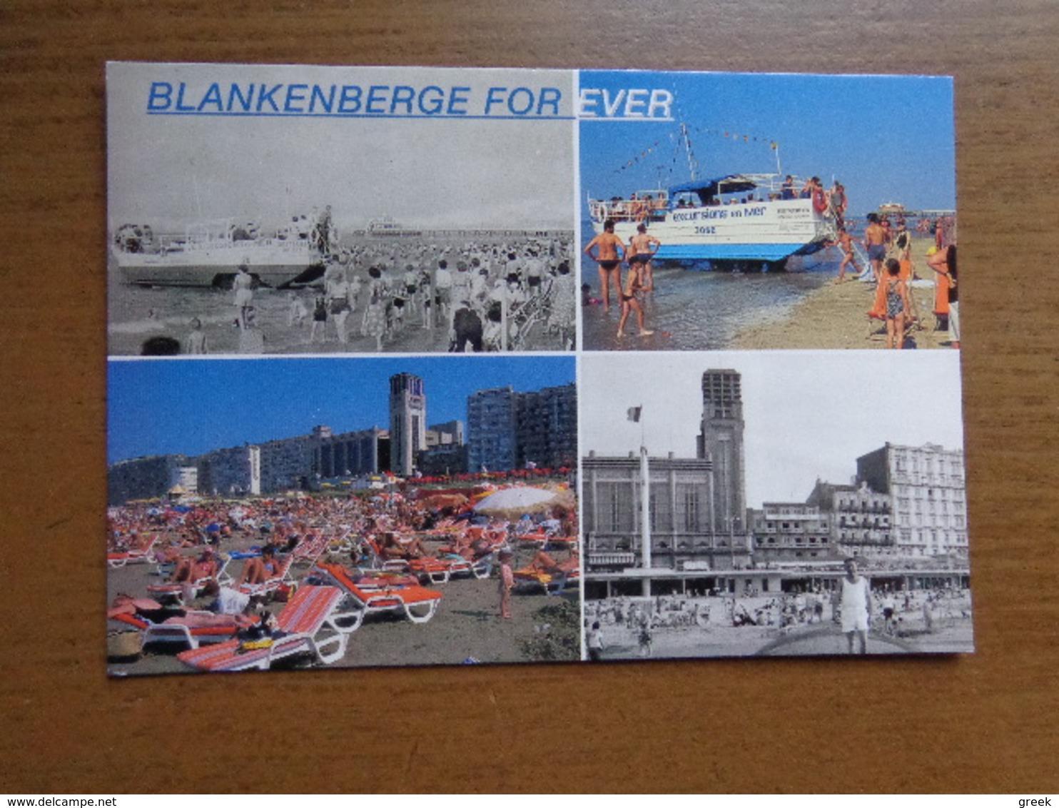 3 Kaarten Van Blankenberge --> Beschreven - Blankenberge