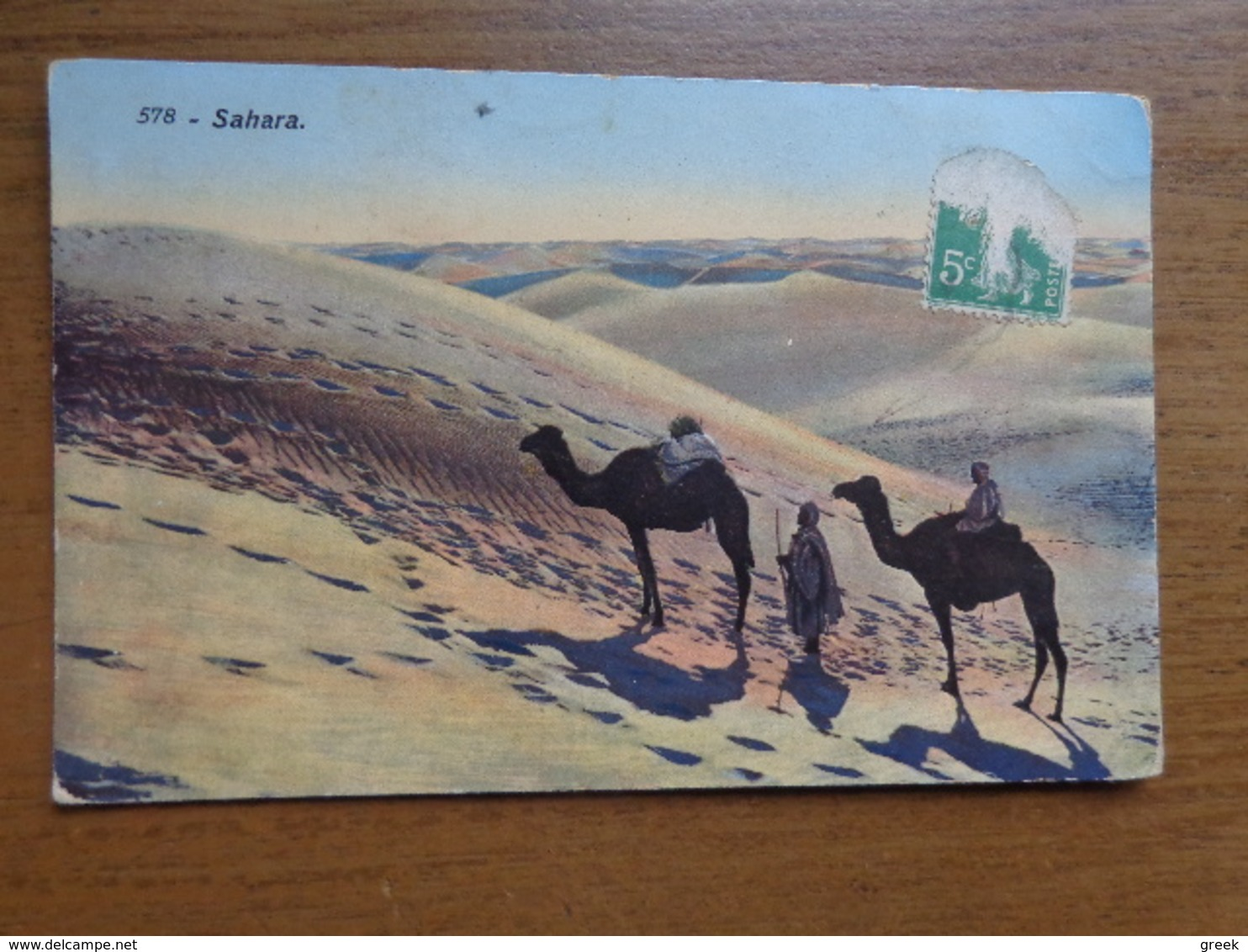 Kameel, Camel / Sahara --> Written - Autres