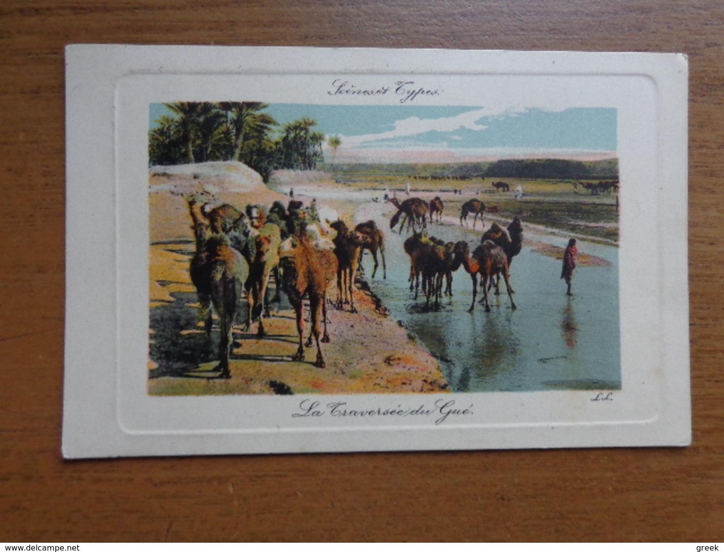 Kameel, Camel / La Traversée Du Gué --> Written - Animaux & Faune