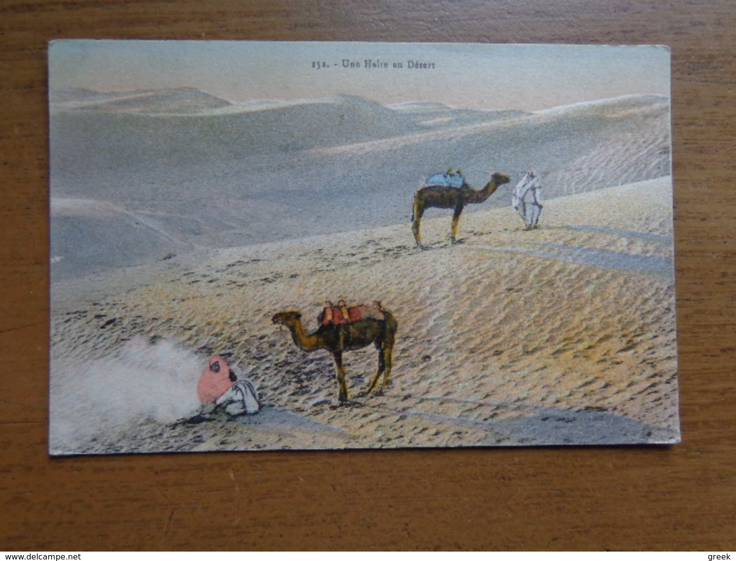 Kameel, Camel / Une Halte Au Desert --> Written - Autres