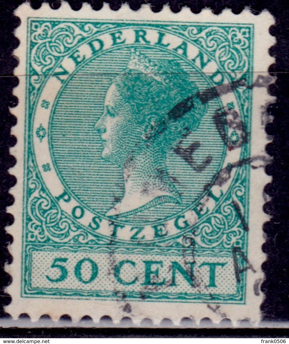Netherlands, 1926-39, Wilhelmina III, 50c, Sc#192, Used - 1891-1948 (Wilhelmine)