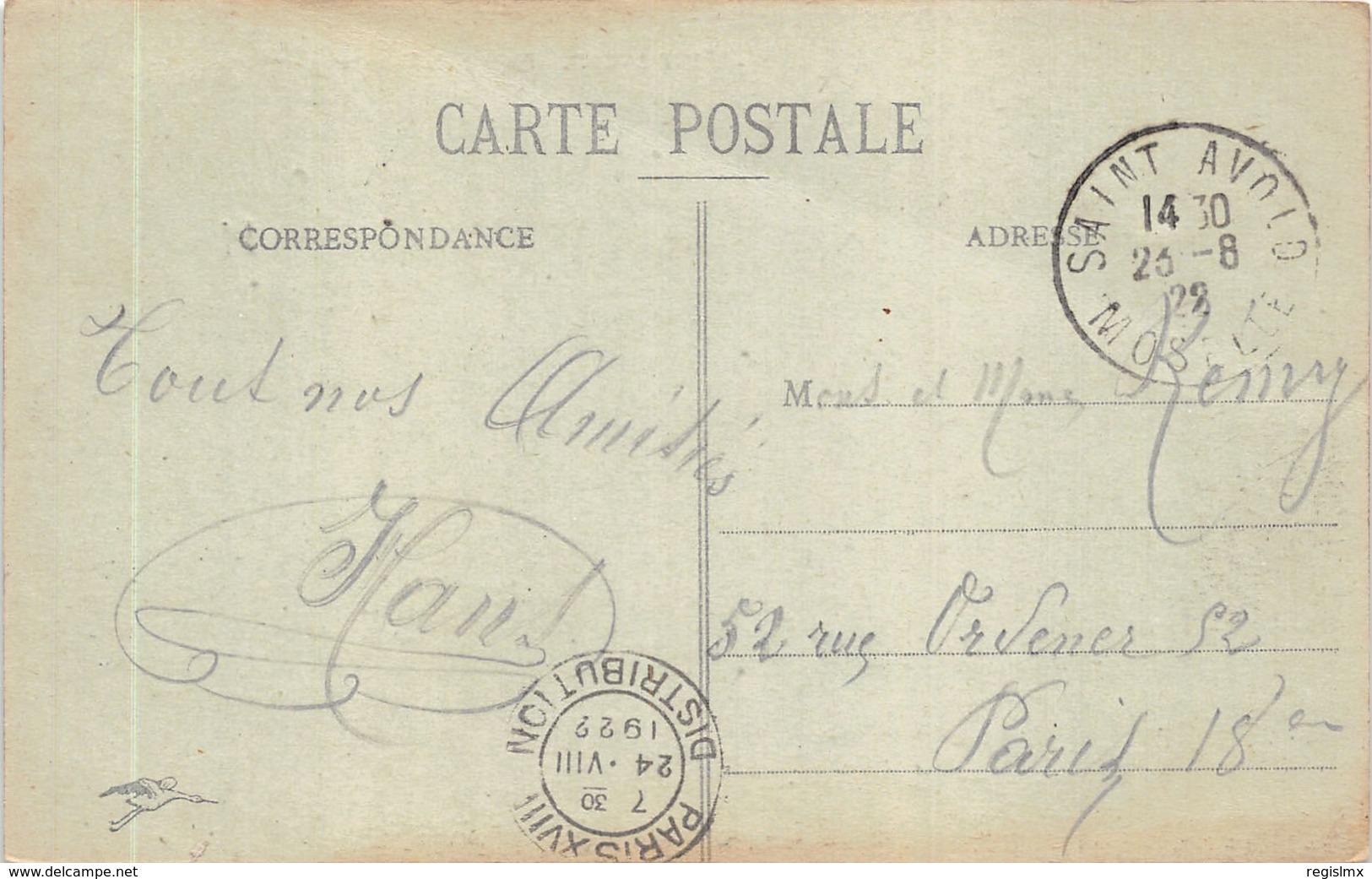 57-SAINT AVOLD-N°519-H/0385 - France