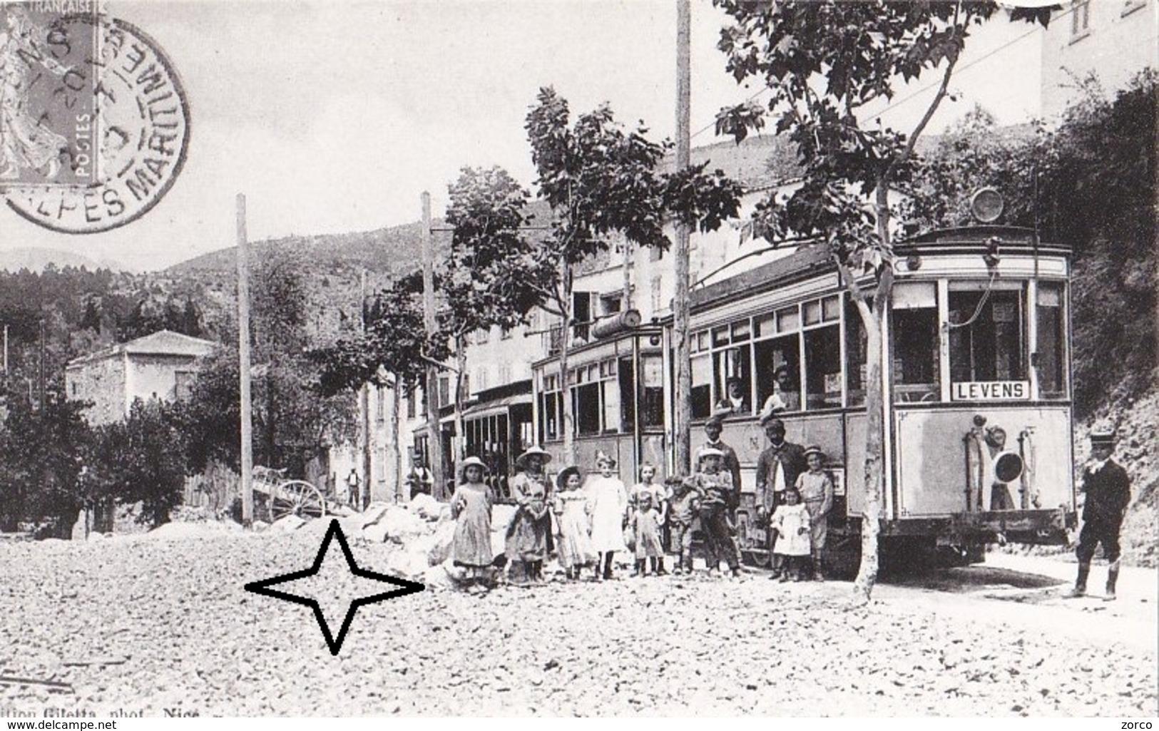 LEVENS Tramway De Nice à Levens - REPRODUCTION. - Frankreich