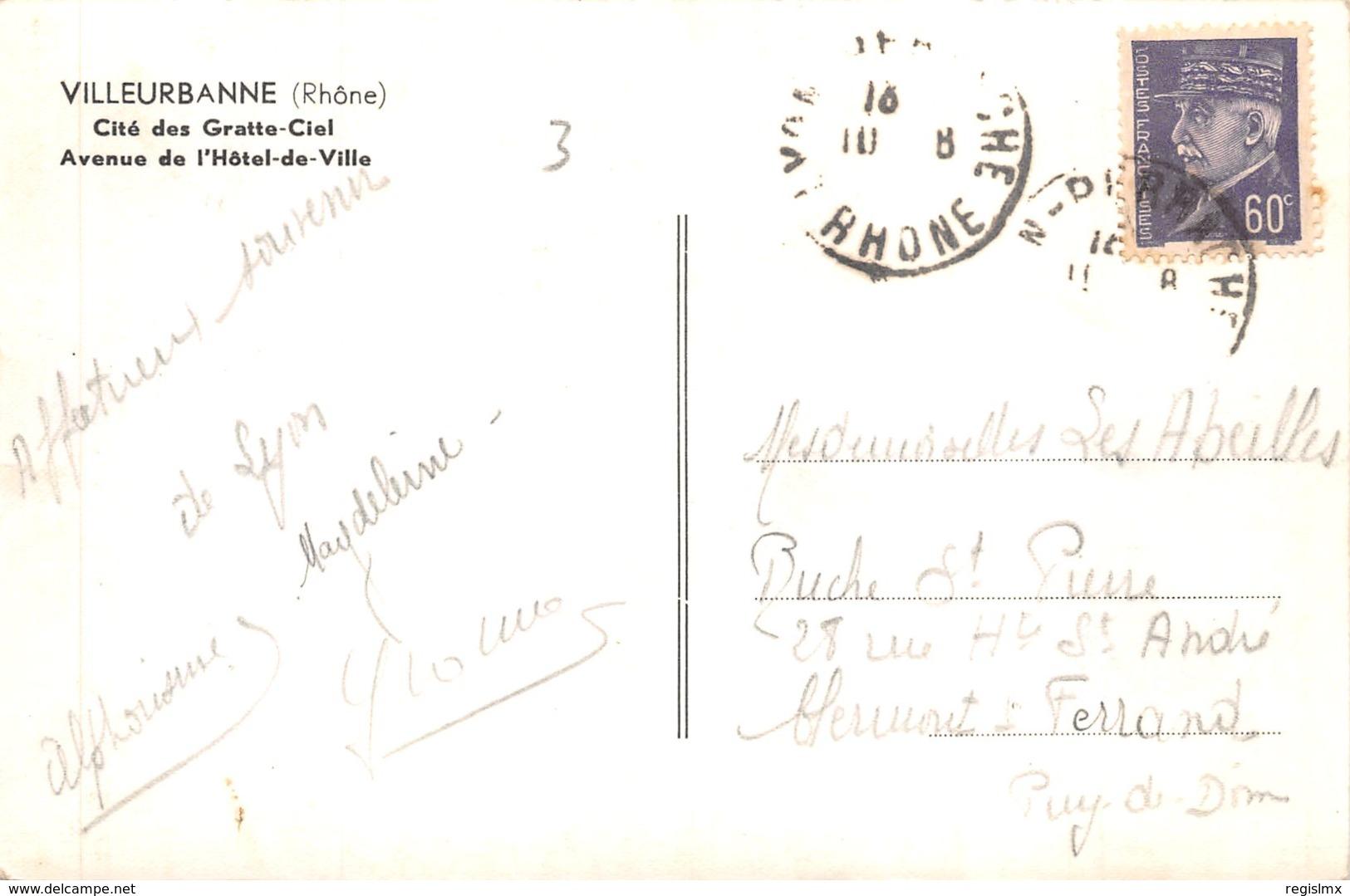 69-VILLEURBANNE-N°521-G/0115 - Sonstige Gemeinden