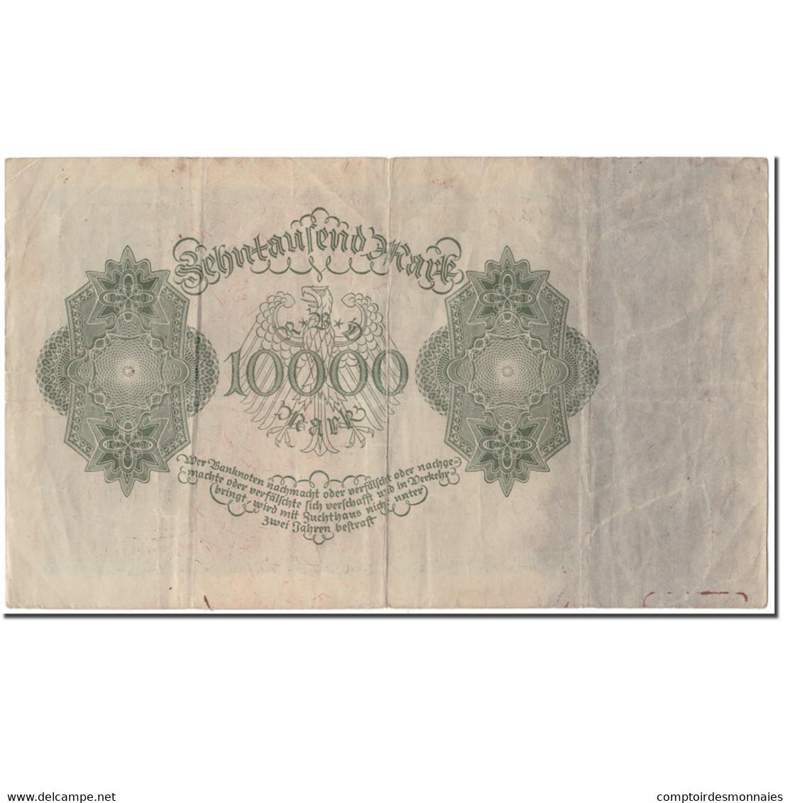Billet, Allemagne, 10,000 Mark, 1922-01-19, KM:71, TTB - 10000 Mark