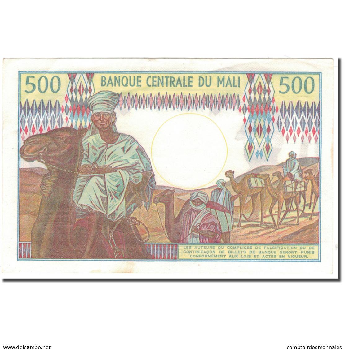 Billet, Mali, 500 Francs, 1973-1984, KM:12f, SUP+ - Mali