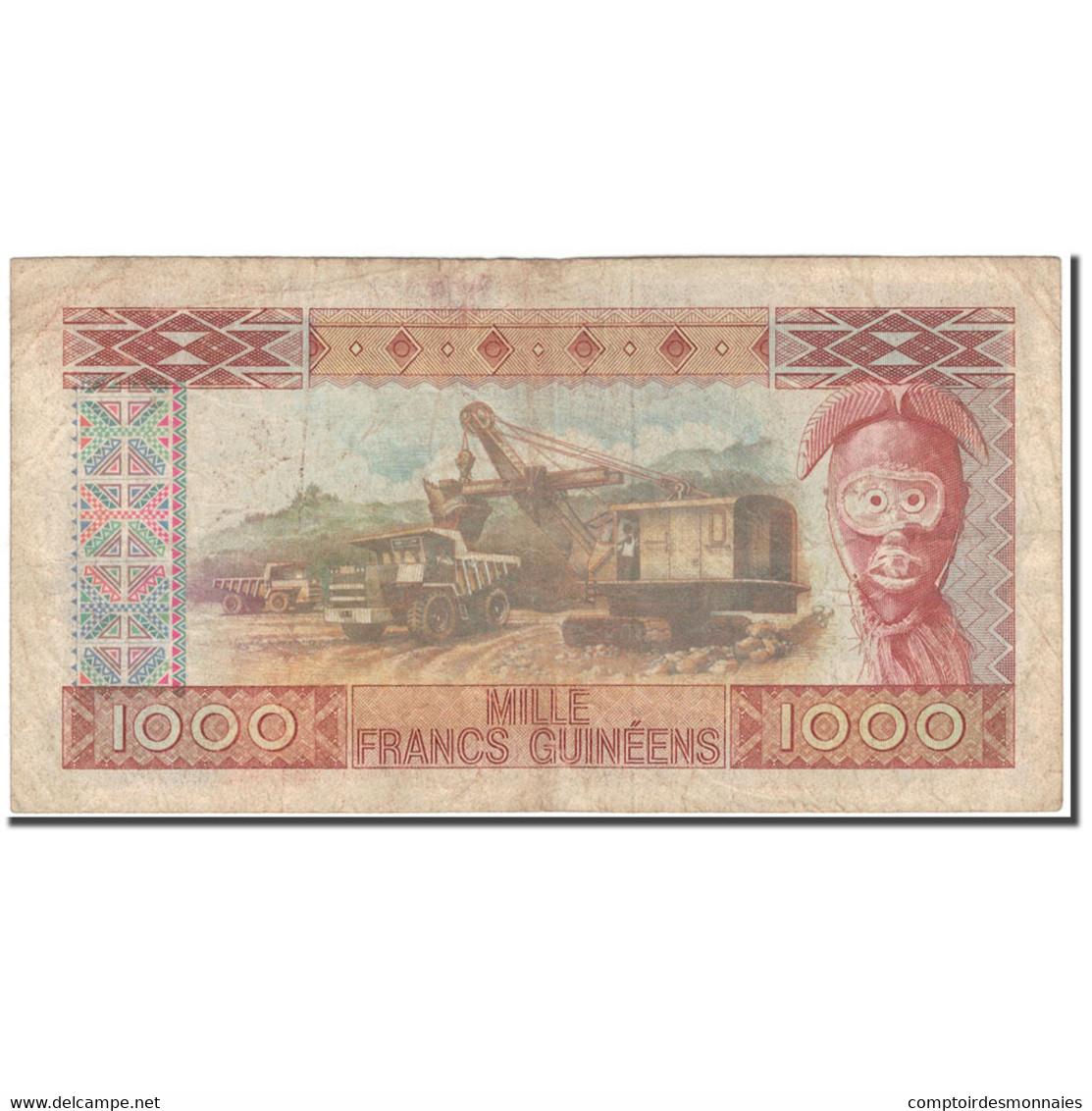 Billet, Guinea, 1000 Francs, 1960-03-01, KM:32a, TB - Guinée