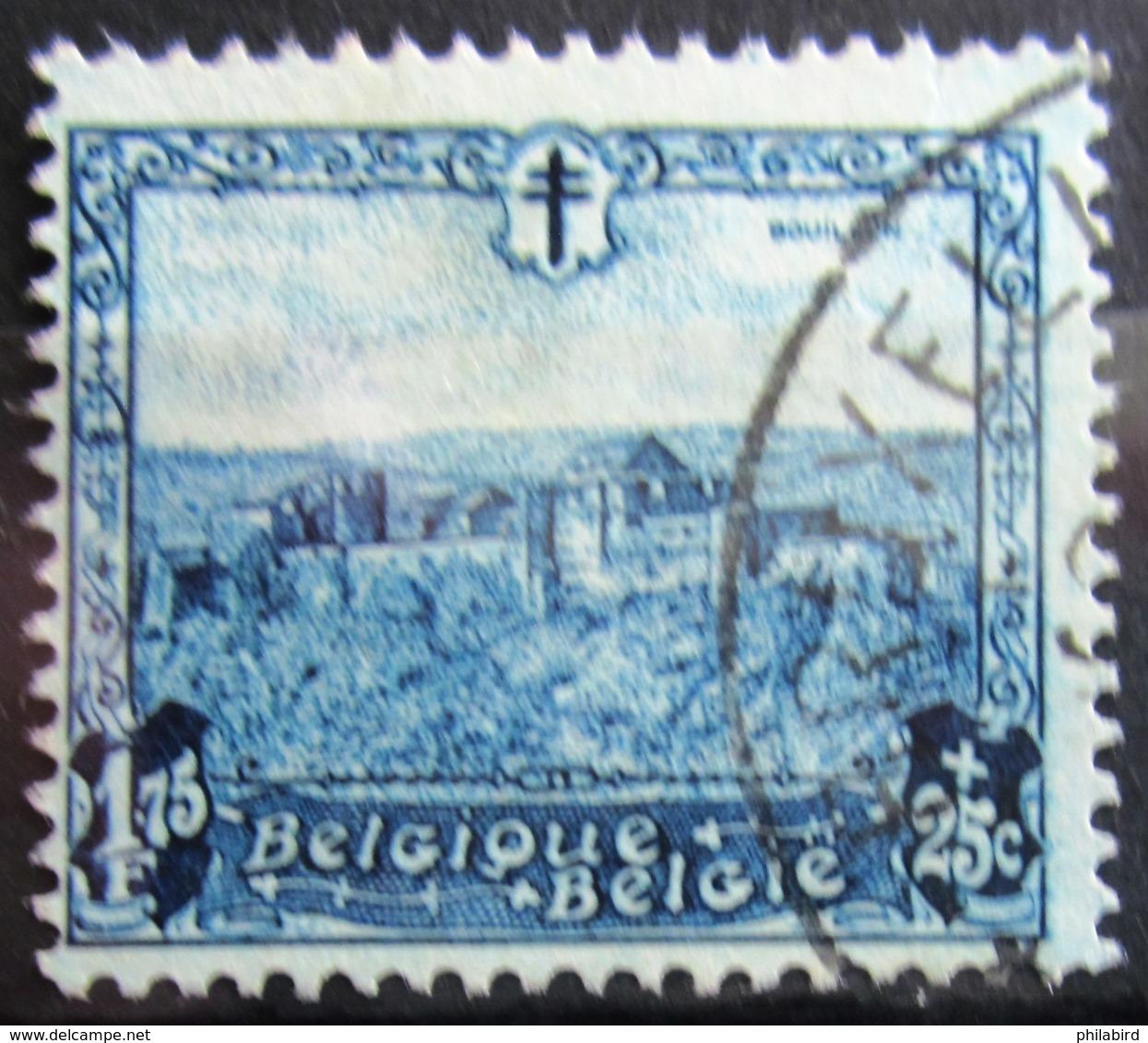 BELGIQUE              N° 313                  OBLITERE - Usati