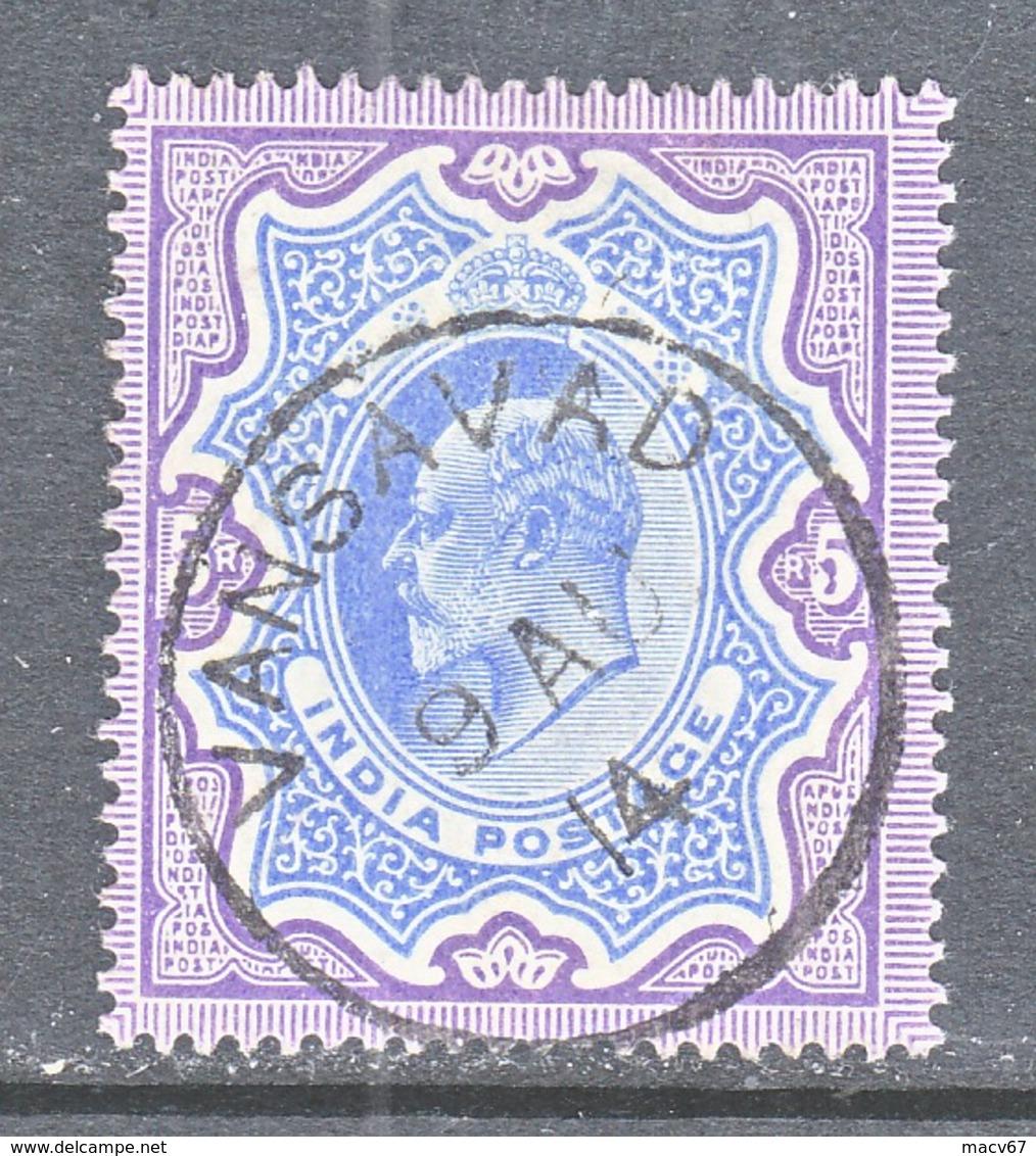INDIA  73   (o)  STAR  Wmk.  1902-09  Issue - 1902-11 King Edward VII