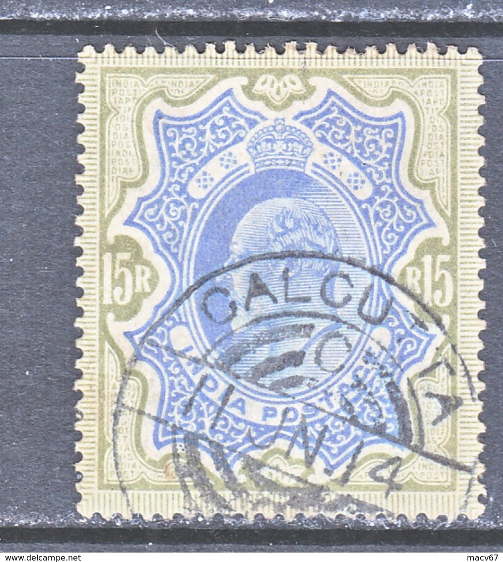 INDIA  75   (o)  STAR  Wmk.  1902-09  Issue - India (...-1947)