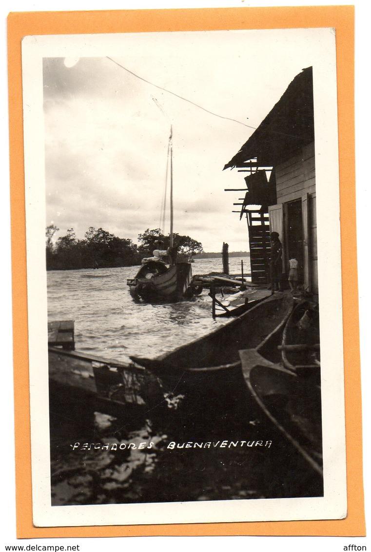 Buenaventura 1920 Postcard - Colombia