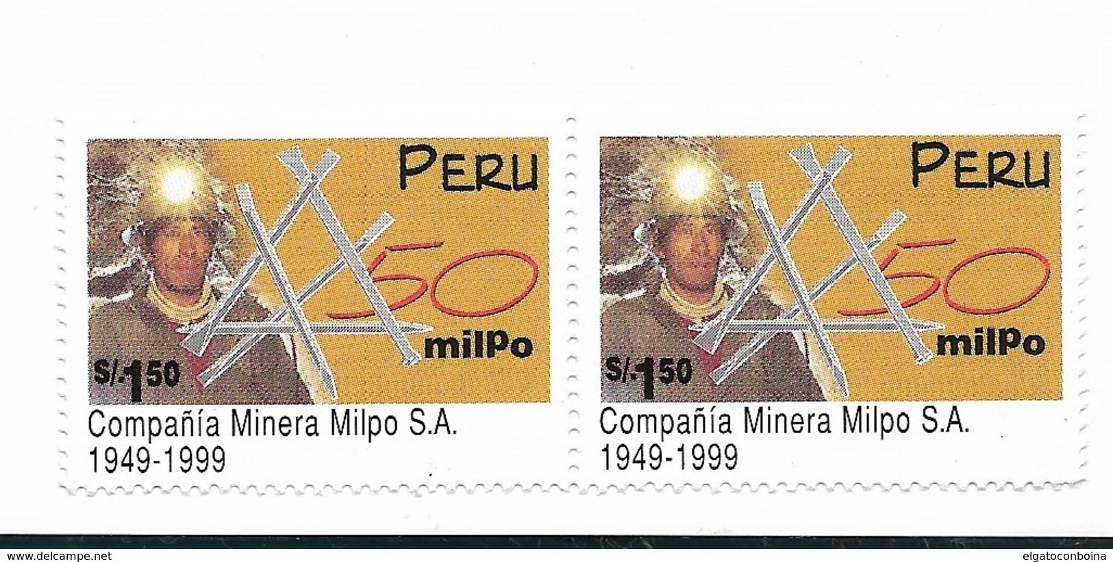 Peru 1999, MILPO MINING COMPANY, SCOTT 1217 MICHEL 1674 1 VALUE MNH - Peru