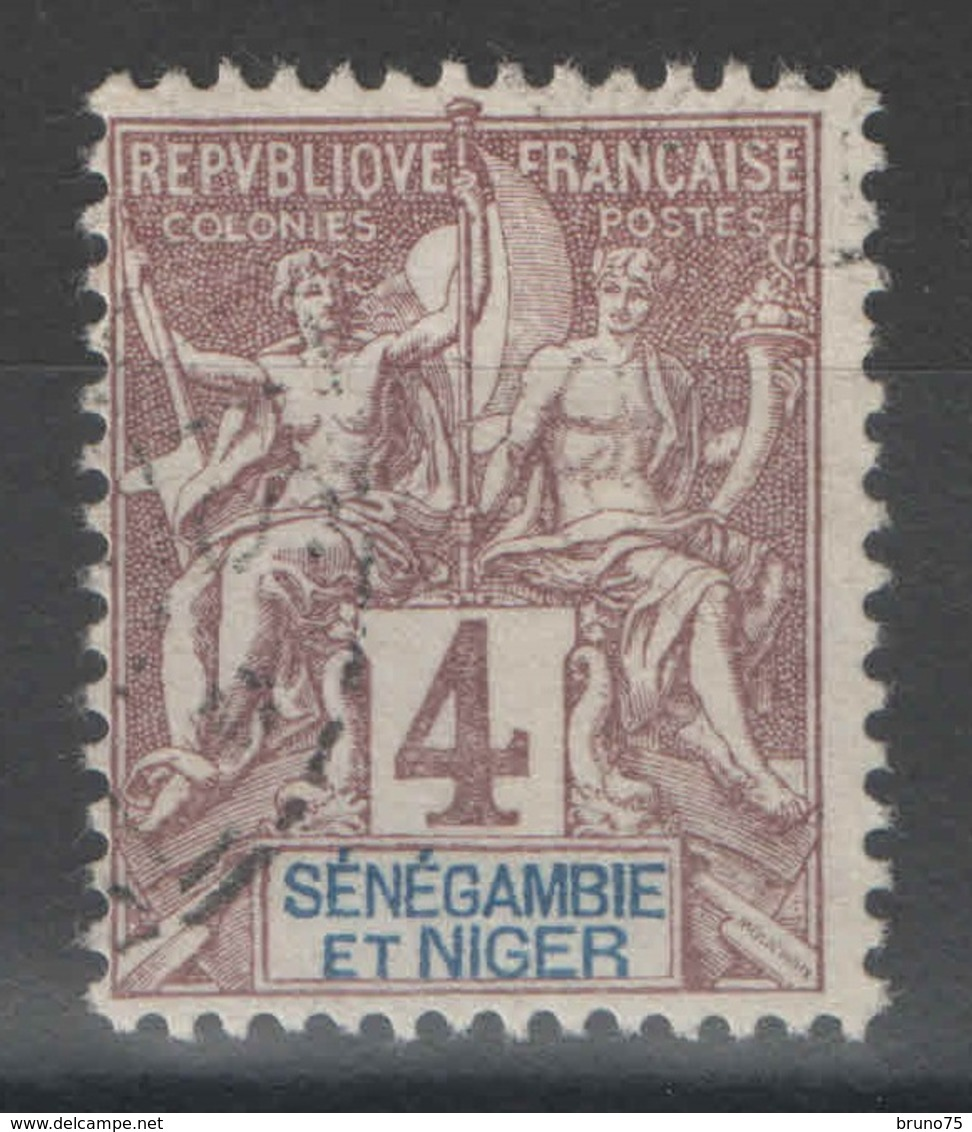 Sénégambie Et Niger - YT 3 Oblitéré - Senegambia And Niger (1903-1906)