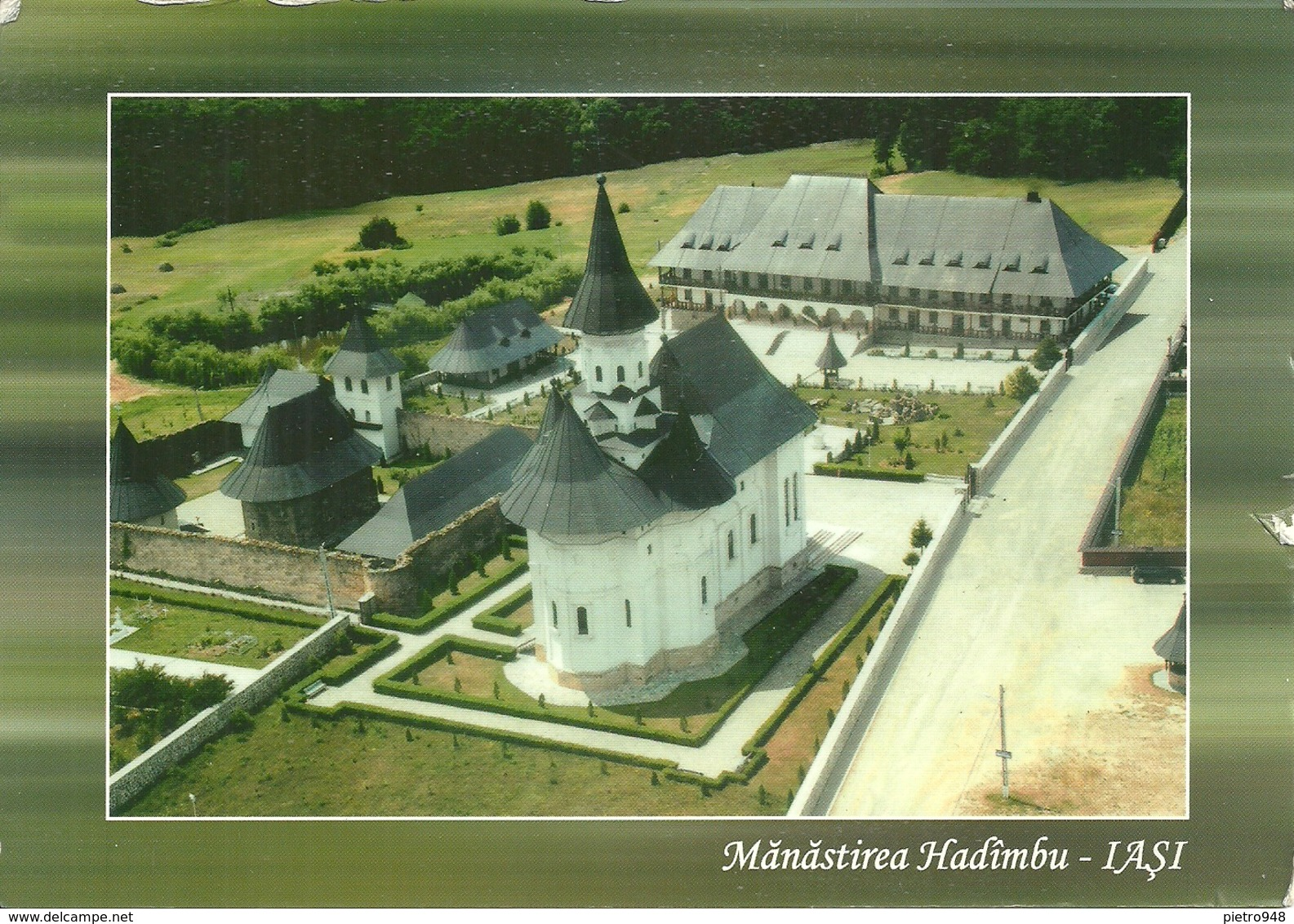 Manastirea Hadimbu (Romania) Judetul Iasi, Vedere De Ansamblu, Veduta Aerea, Aerial View - Romania