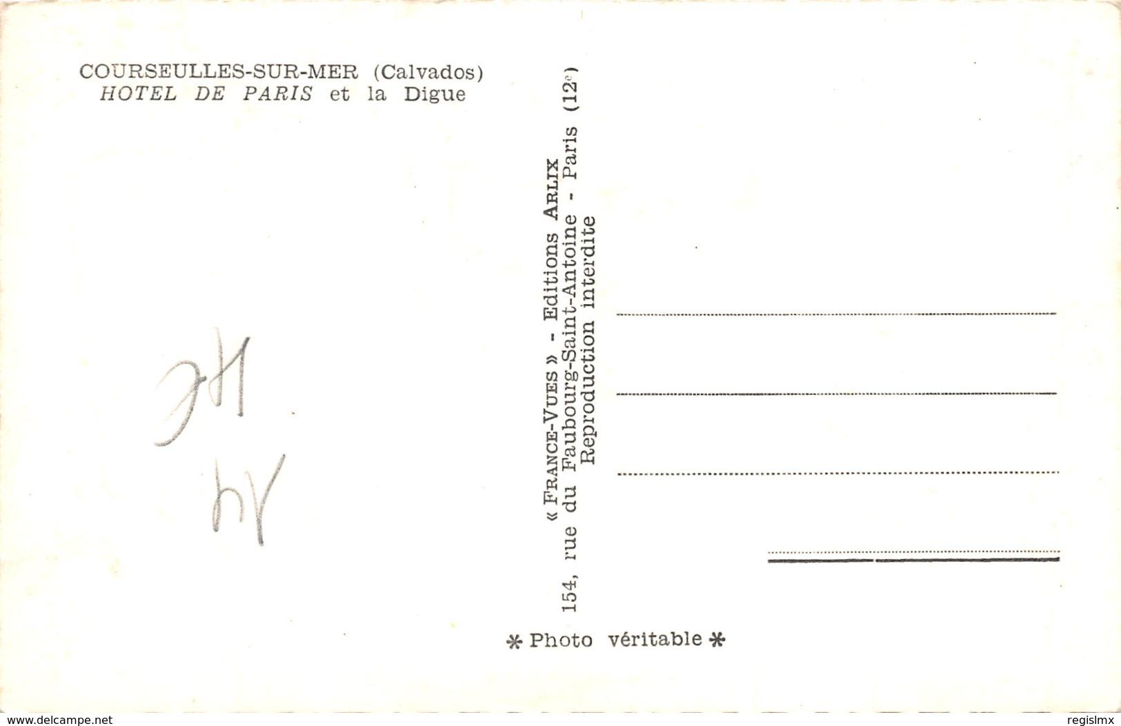 14-COURSEULLES SUR MER-N°351-A/0173 - France