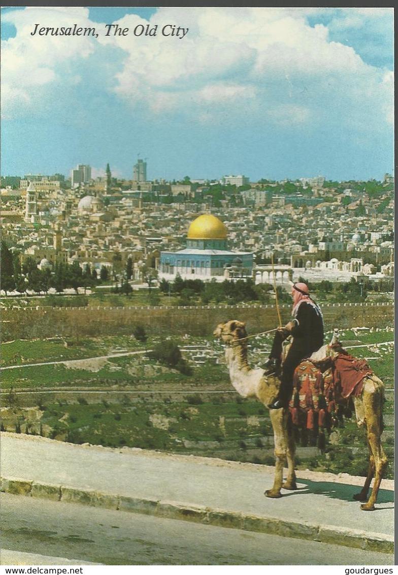 Jerusalem - La Vieille Ville, Vue Du Mont Des Oliviers - Israel