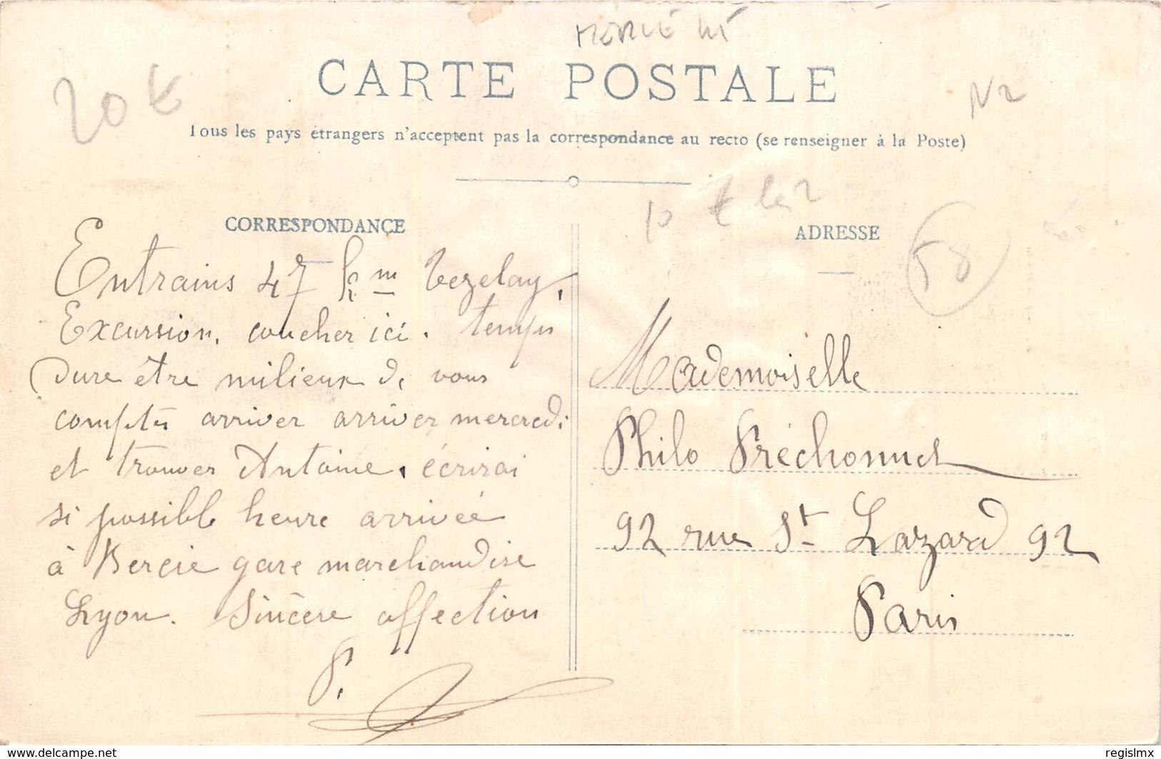 58-FOLKLORE DU MORVAN-N°368-H/0273 - France