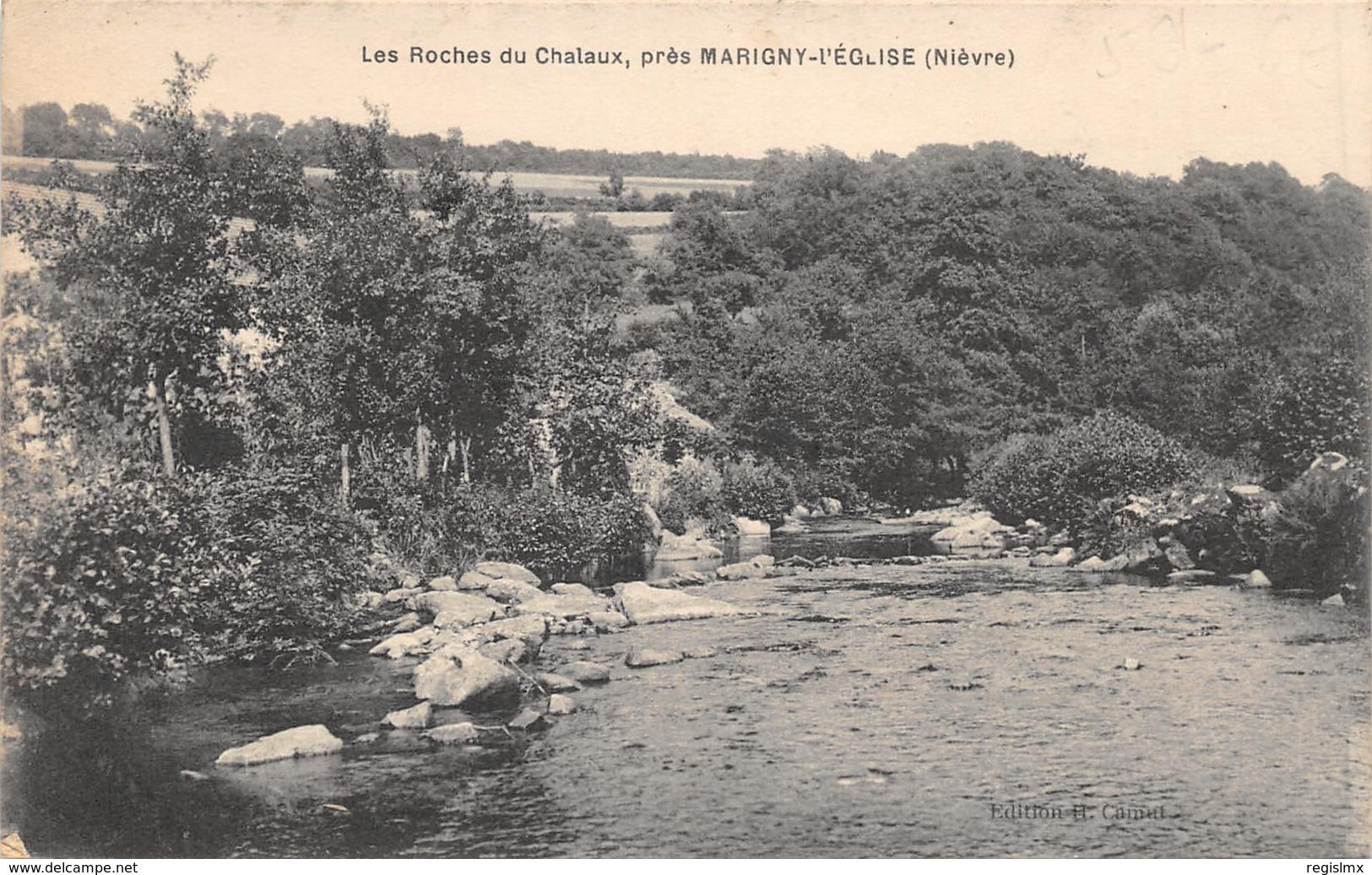 58-CHALAUX-LES ROCHES-N°369-E/0303 - Autres Communes