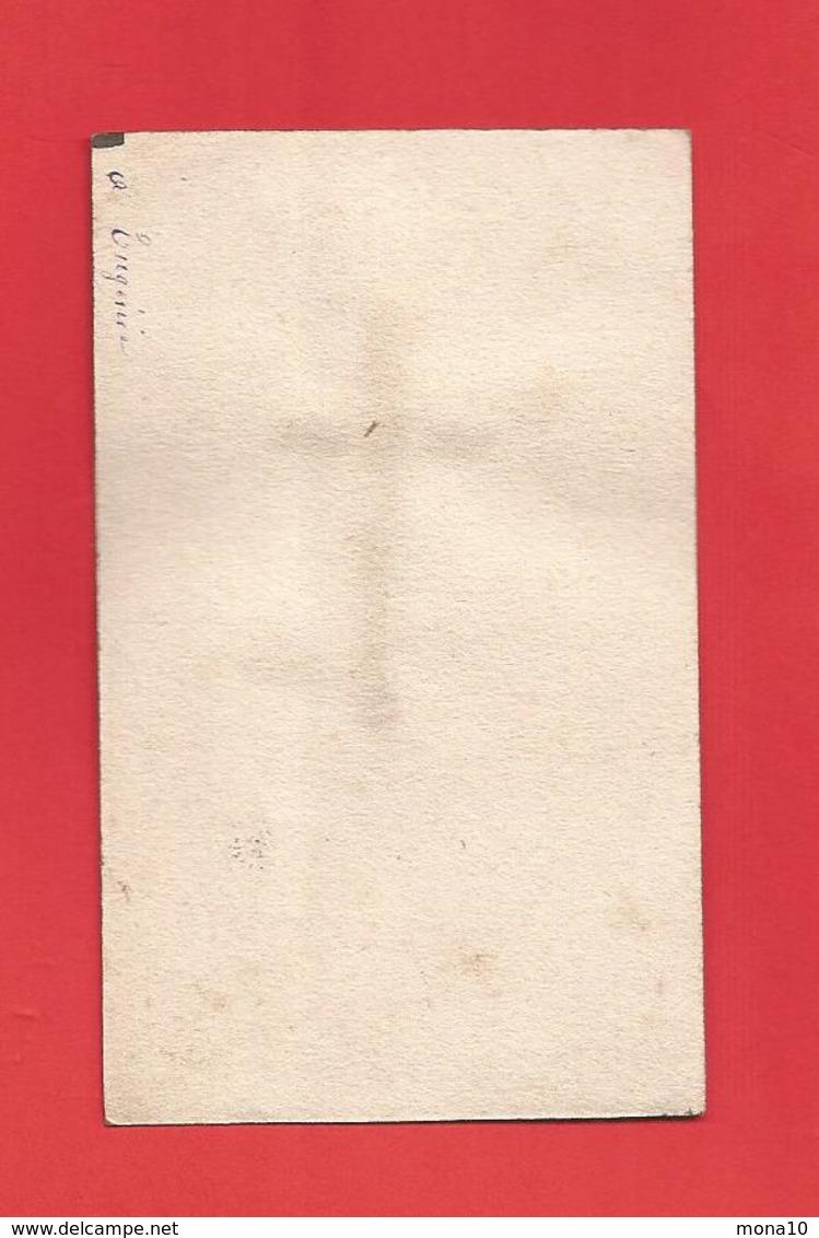 Image Religieuse; Flanelle De Sr M Bernard Soubirous ,décédée Le 16 Avril 1879; Relique, Tissu - Images Religieuses