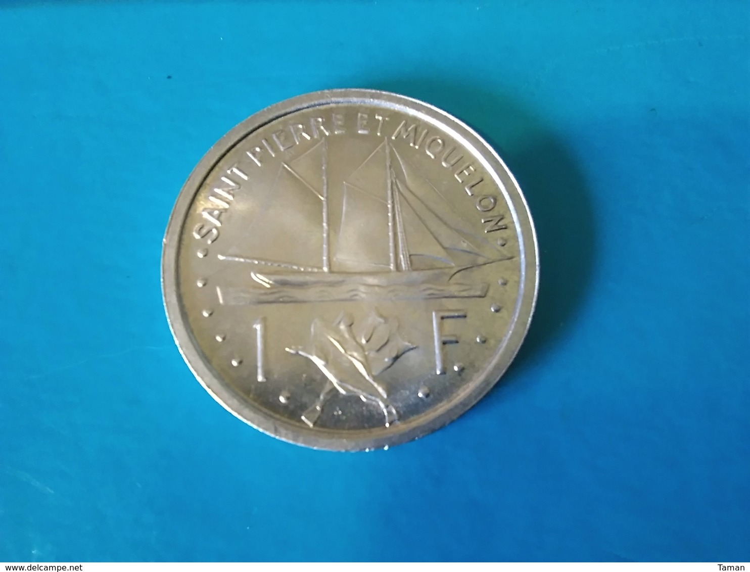 SAINT PIERRE Et MIQUELON   1 Franc  1948  --UNC-- - Colonie