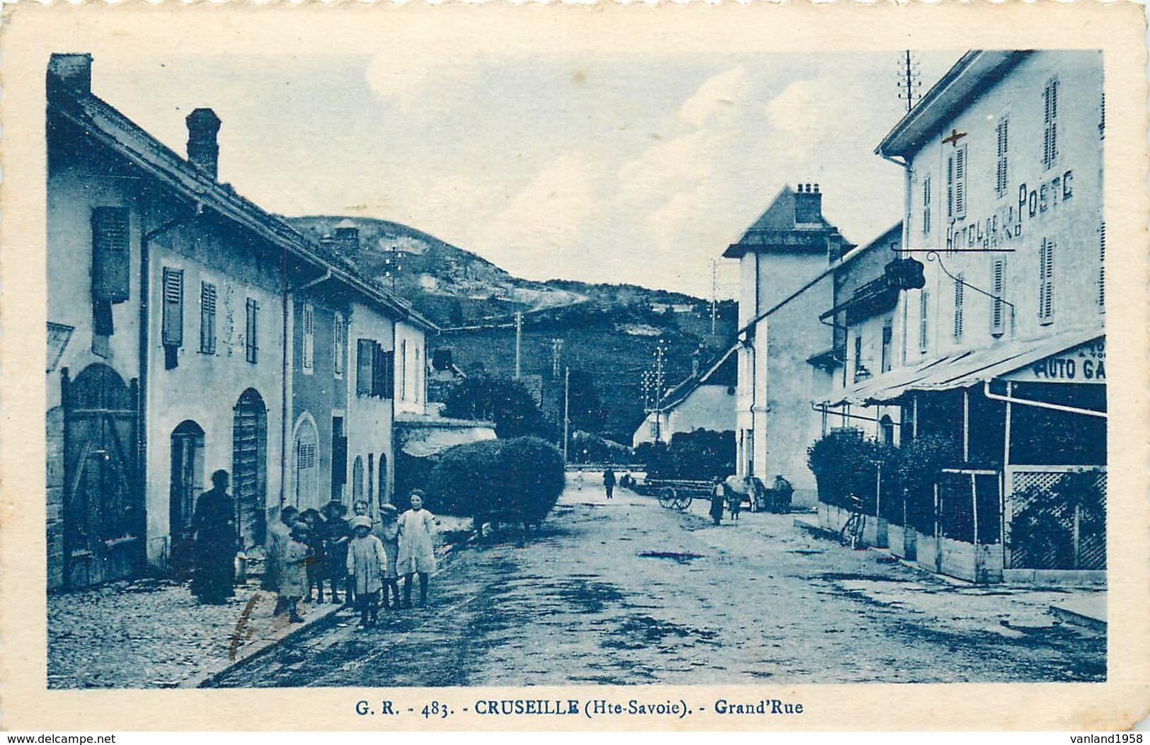 CRUSEILLE-grande Rue - France