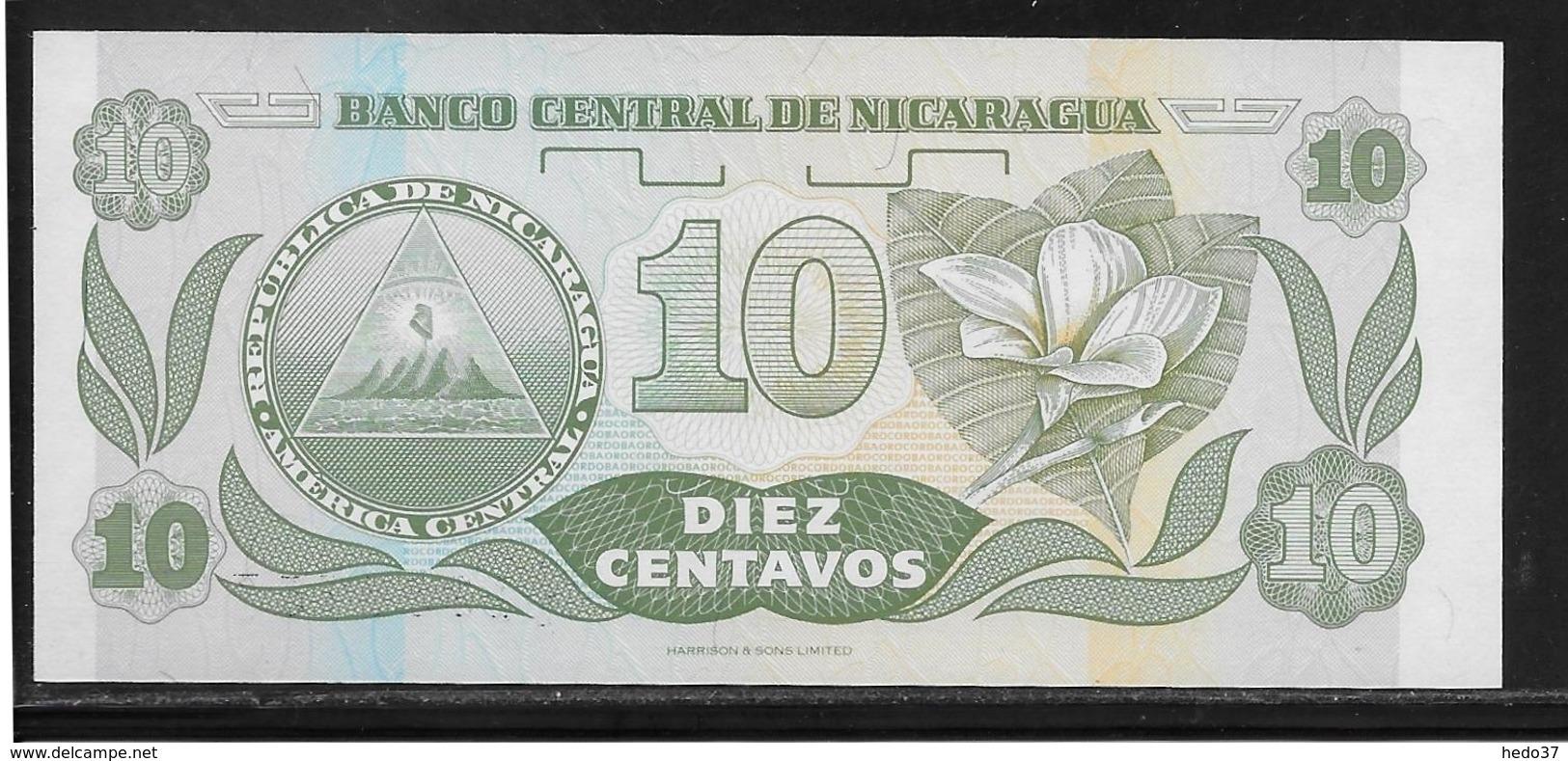 Nicaragua - 10 Centavos - Pick N°169 - NEUF - Nicaragua
