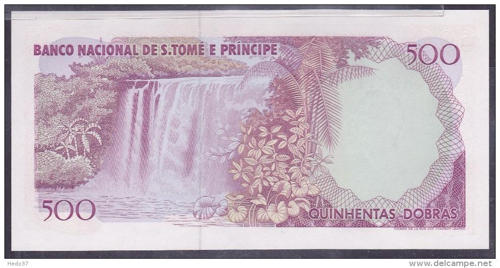 S. Tomé E Principe - 500 Dobras Pick N°61 - Neuf - Sao Tomé Et Principe