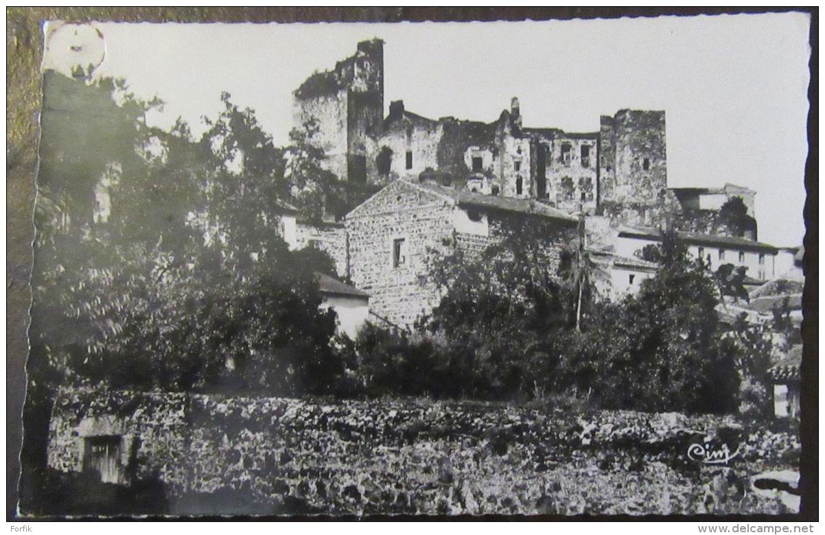 Le Broc (Puy-De-Dôme) - Château Historique - Carte Photo Circulée - Frankrijk