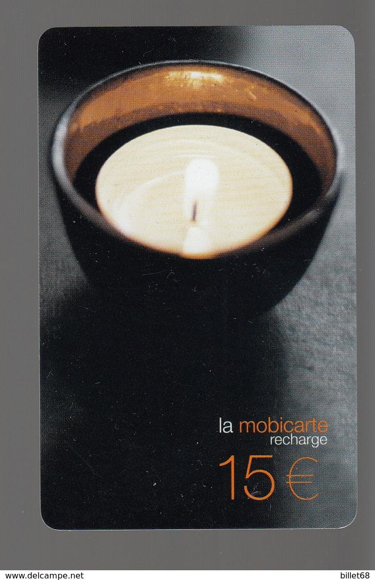 3 Mobicartes 10€ 15€ 15€  BOUGIE - Frankrijk
