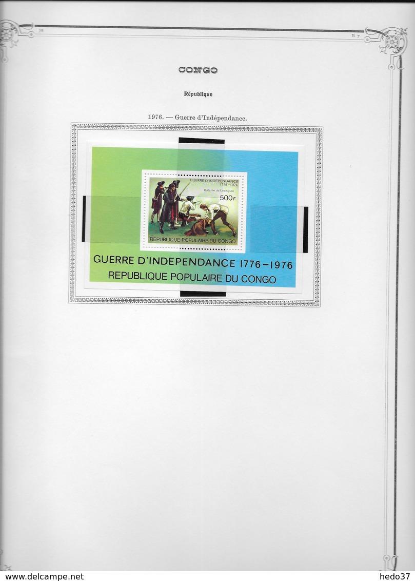 Congo - Collection  Vendue Page Par Page - Timbres Neufs **/*/oblitérés - Collections