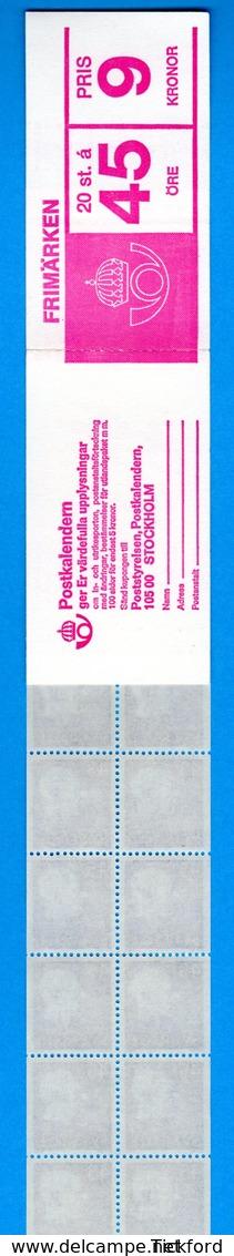 SUEDE 1967 - CARNET  YT C567a - Facit H190 - Neuf ** MNH - Série Courante, Gustave VI - Carnets