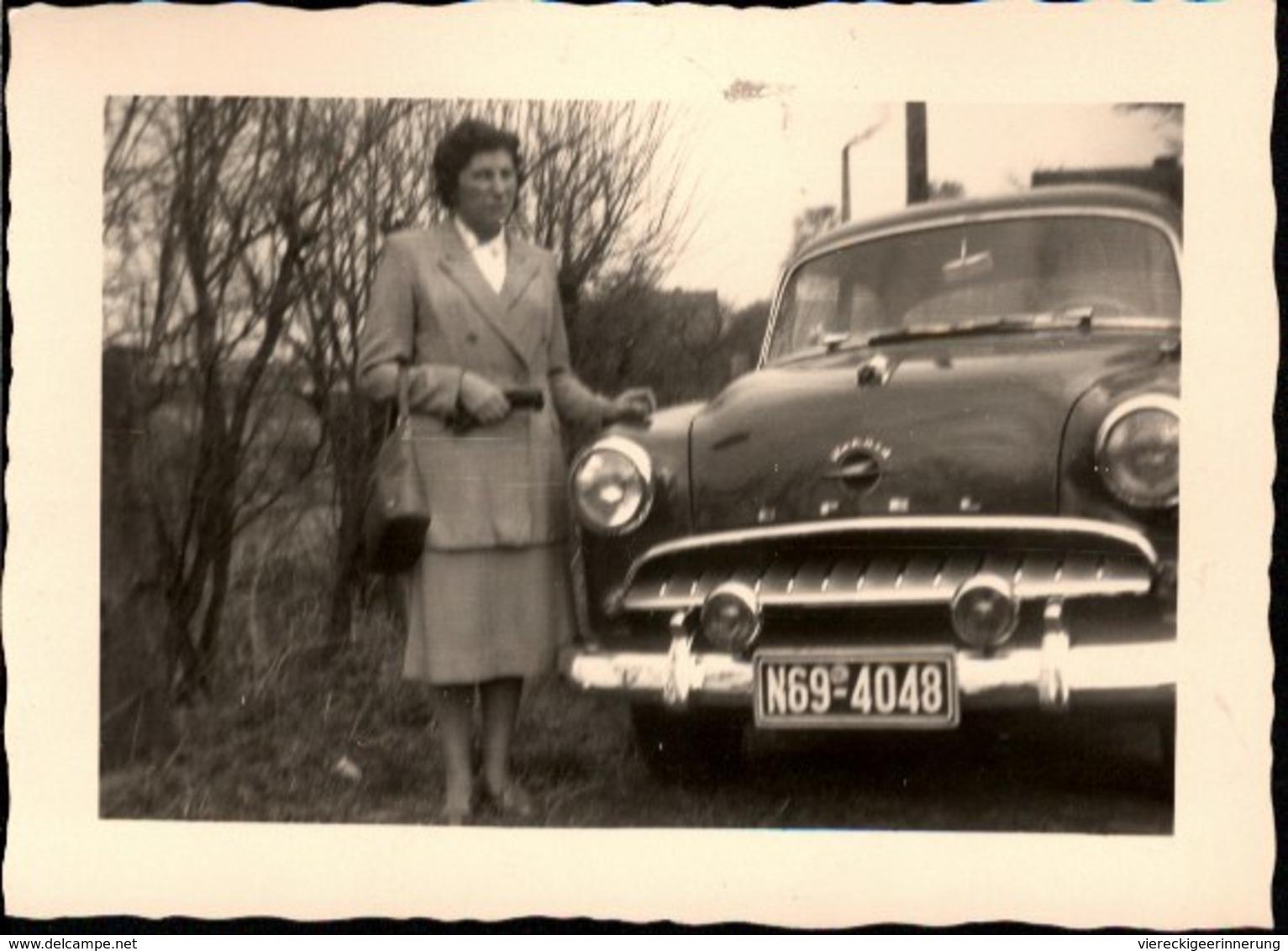 ! 5 Photos, Fotos, Opel PKW, Auto, Car, Voiture, Format 9,5 X 7cm - PKW