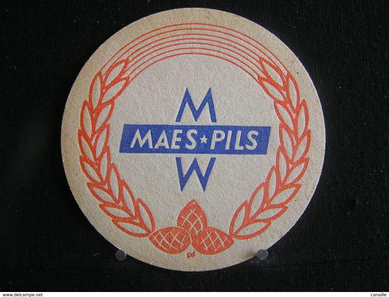 Bierviltje / Bierdeckel / Sous Bock / Beer Mats: Maes-Pils - Sous-bocks