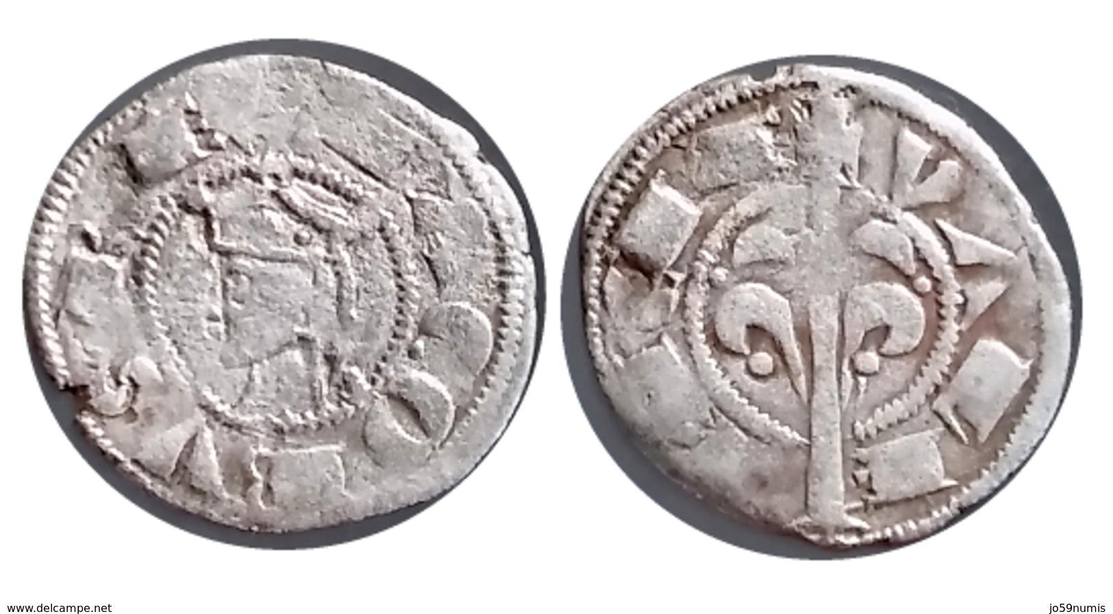 ESPAGNE Jacques Ier Le Conquérant Denier De Valence (1238-1276) A VOIR!!! - 476-1789 Monnaies Seigneuriales