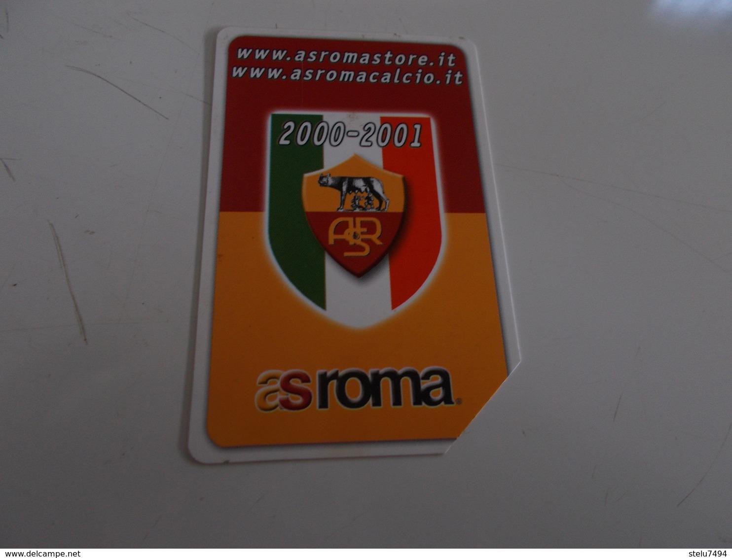 B699    Scheda Telefonica Roma Calcio - Tarjetas Telefónicas