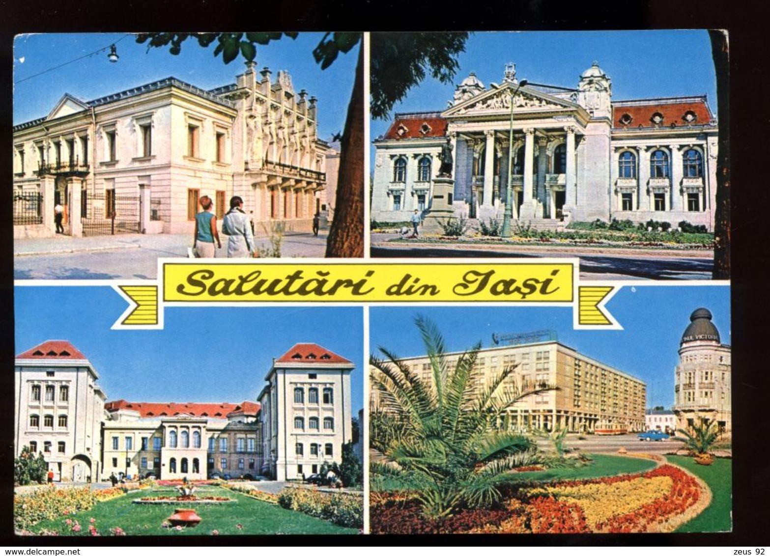 B7559 ROMANIA - BUCURESTI - SALUTARI DIN JASI - Romania