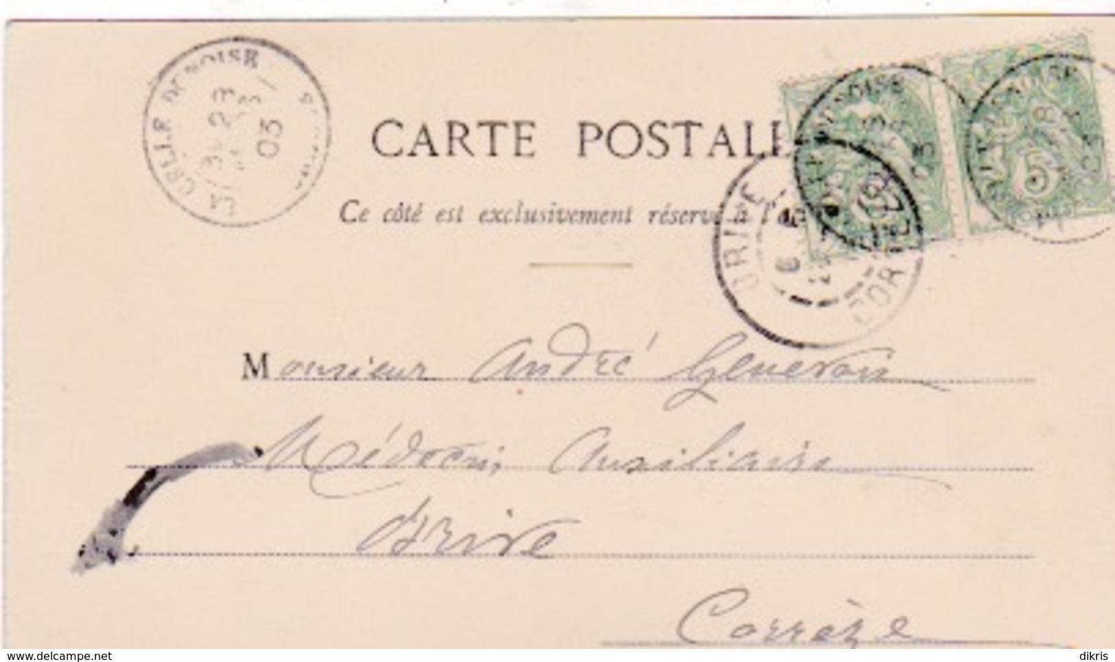23-LA CELLE-DUNOISE- PONT SUR LA CREUSE - Frankrijk