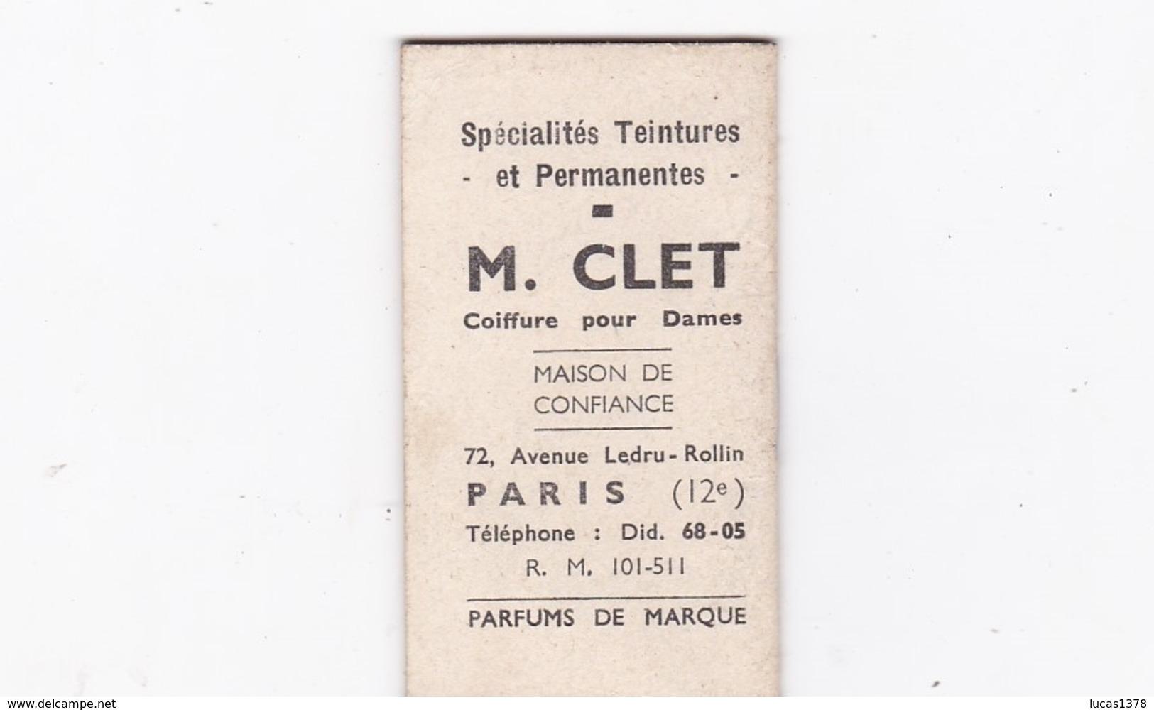 PETIT  ALMANACH POUR 1947 / CHATONS PUB COIFFEUR PARIS - Calendriers