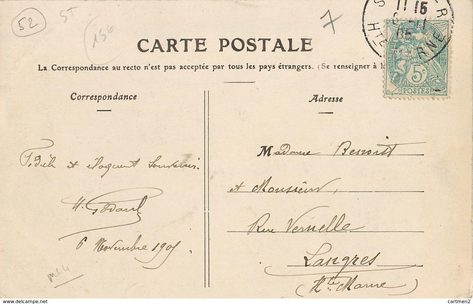 SAINT-DIZIER ECOLE LIBRE DE L'IMMACULEE CONCEPTION LE DRAPEAU ET SON PIQUET D'HONNEUR 52 - Saint Dizier