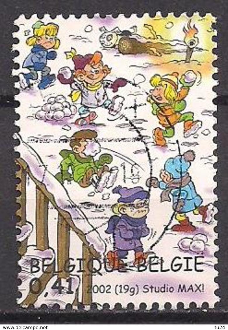 Belgien  (2002)  Mi.Nr.  3157  Gest. / Used  (4aa12) - Belgium