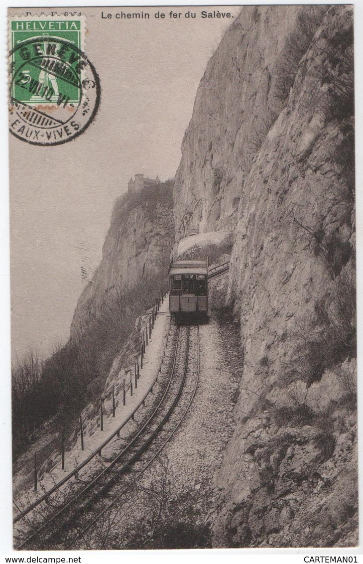 Le Chemin De Fer Du Salève - France