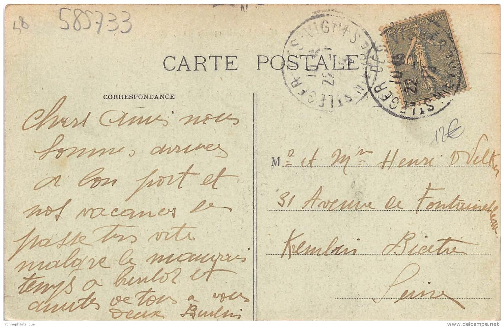 58 - NIEVRE / Saint Léger Des Vignes - 585733 - Route De La Machine - France