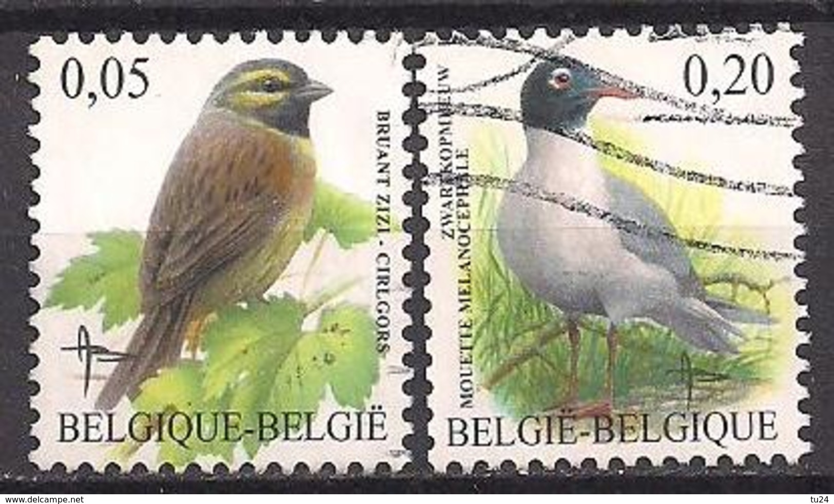 Belgien  (2005)  Mi.Nr.  3427 + 3428  Gest. / Used  (3aa14) - Belgium