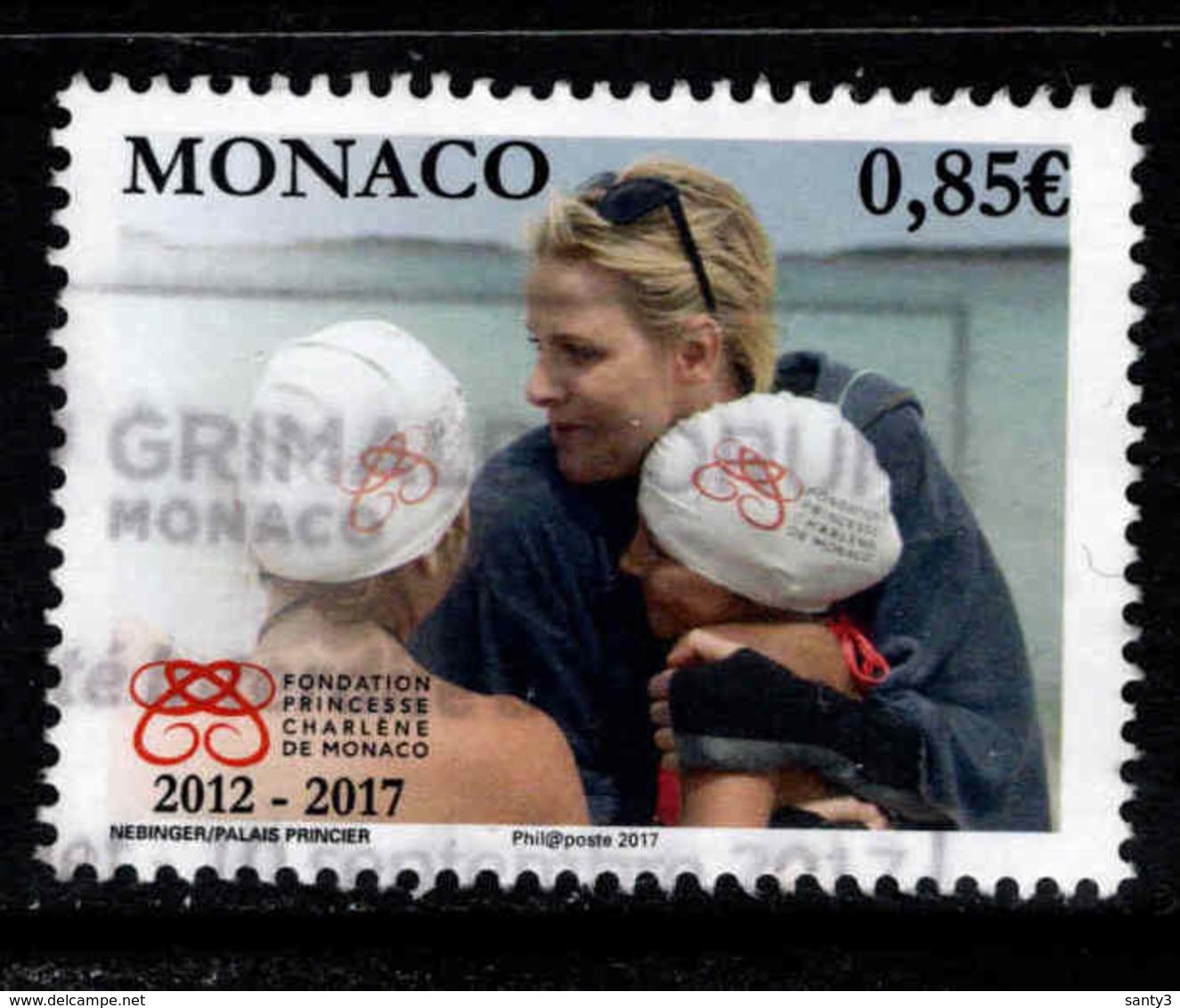 Monaco, Yv 3079 Année 2017,   Oblitéré, Voir Scan - Oblitérés